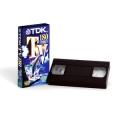Videocassetta VHS Tdk E180 conf. 04 pz.