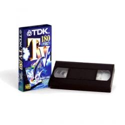 Videocassetta VHS Tdk E240 conf. 03 pz