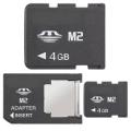 Memoria M2 c/adattatore 4 gb