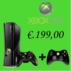 X-box 360 slim 4 gb
